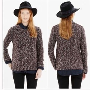 Madewell Women's Marled Pullover Chunky Sweater